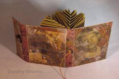fishbone folding technique originally created by master book artist, Hedi Kyle