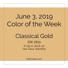Your Color of the Week and forecast for the week of June 3, 2019. What if we celebrated all beginnings, endings and middles of things? And allowed more joy?
