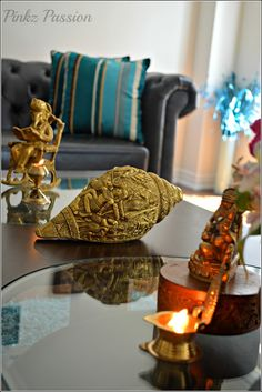 Brass Collectibles, Brass Vignettes, Celebrations, Entrance, Ethnic Indian Décor, Global Décor, Global Décor Design, Indian Decor, Indian Home, My home, traditional Indian home,