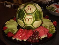 Soccerball melon by Geppetto22, via Flickr