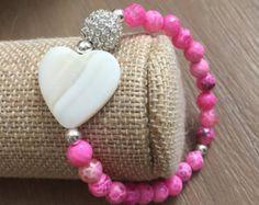 Pink Agate, Bracelets, Jewelry, Jewlery, Jewerly, Schmuck, Jewels, Jewelery, Bracelet