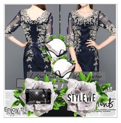 """Stylewe 6"" by ajisa-ikanovic ❤ liked on Polyvore featuring Boohoo, H&M and stylewe"