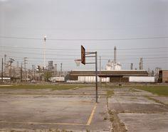 Richard Misrach - Playground and Shell Refinery, Norco, Louisiana, 1998
