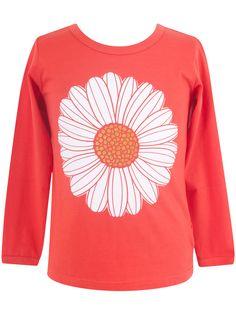 "#Danefae Langarmshirt ""Daisy"" - € 24,00 - Wikimo Kindermode, Kinder Shirt, rot by Danefae Daisy, Sweatshirts, Sweaters, Fashion, Spring Summer, Shell Tops, Red, Moda, La Mode"