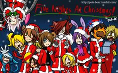 Find images and videos about christmas, fnaf and Bonnie on We Heart It - the app to get lost in what you love. Five Nights At Freddy's, Fnaf Pole Bear, Mangle Toy, Toy Bonnie, Fnaf Freddy, Fnaf Night Guards, Scary Games, Fnaf Sl, Fnaf Sister Location