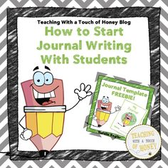 Blog Post with Freebie - Have you thought about using journals with your students but are unsure of where to begin? Do you use journals with your students but are looking for new idea