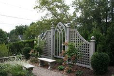 Looking for ideas to decorate your garden fence? Add some style or a little privacy with Garden Screening ideas. See more ideas about Garden fences, Garden privacy and Backyard privacy. Cheap Privacy Fence, Privacy Fence Designs, Garden Privacy, Garden Arbor, Backyard Privacy, Garden Trellis, Backyard Landscaping, Privacy Screens, Garden Gates And Fencing