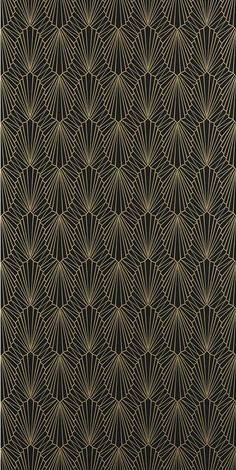 Cabaret Wallpaper Lacquer 882 by Catherine Martin by Mokum