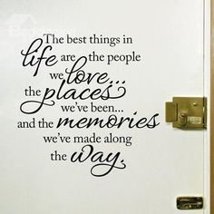 Inspiring Words and Quotes Life Motto Romovable Wall Sticker on sale, Buy Retail Price Wall Stickers at Beddinginn.com
