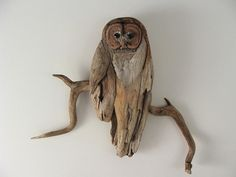 Owl art...I am going to make this!