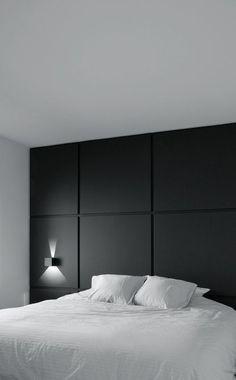50 Ideas For Bedroom Inspo Black Interior Design Master Bedroom Design, Home Bedroom, Modern Bedroom, Bedroom Wall, Bedroom Decor, Bedrooms, Bedroom Black, Trendy Bedroom, Minimalist Bedroom