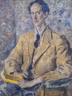 Portrait of Lord David Cecil, 1935 by Augustus John (British 1878–1961)  © The estate of Augustus John. All Rights Reserved 2014 / Bridgeman Images