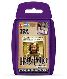 TOP TRUMPS HARRY POTTER UND DER GEFANGENE VON ASKABAN #TopTrumps #HarryPotter #GefangenervonAskaban #SiriusBlack #Harry #Hermine #Ron #Hogwarts