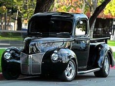 1940 Ford Pick-up Hot Rod Trucks, Cool Trucks, Chevy Trucks, Pickup Trucks, Cool Cars, Truck Drivers, Farm Trucks, Chevrolet Bel Air, Ford Motor Company