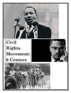 Civil Rights Movement Centers-1960s