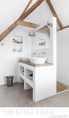 séparer la salle de bain: bonne idée!