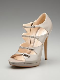 Outer Side Buckle Sandal by Casadei on Gilt