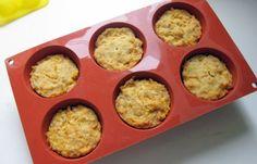 Almond-Carrot Cake Muffins