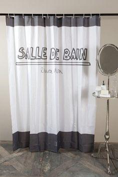 Riviera Maison Salle De Bain suihkuverho, Sisustus Trendo