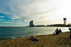 Playa de la Barceloneta Golden Gate Bridge, Barcelona, Halloween, Travel, Heavy Water, Voyage, Cities, Beach, Viajes
