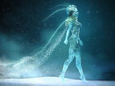 ArtStation - snow queen, Александр Овчаренко Ice Powers, Snow Queen, Christmas Inspiration, Whale, Sci Fi, Artwork, Animals, Rpg, Animales