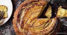 Банановый пирог вверх тормашками от Гордона Рамзи Банановый пирог  с официального сайта Гордона Рамзи
