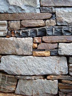 stone walls in Asheville