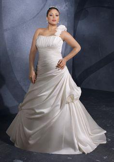 Mori Lee 3071 Strapless Wedding Dress $315