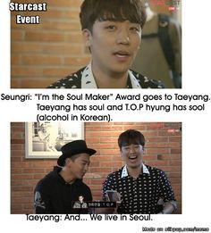 Funny maknar, funny Youngbae #BIGBANG #Seungri #Taeyang