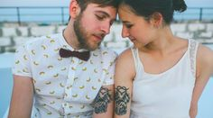 """Surprising Confessions From People Who Got Matching Tattoos - ""It's like having a wedding ring for my two best friends"""""