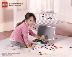 LEGO : « On pardonne tout à leur créativité »Il etait une pub – Le blog d'actualite publicitaire