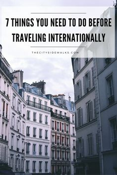 It's easy to get wrapped up in the excitement of booking that dream trip  overseas, but there are a few things you need to add to your checklist  before you pack your bags.Use these 7 tips to make sure you're preparing  for your international trip like a pro!
