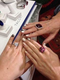 Capri Jewelers Arizona  ~ www.caprijewelersaz.com Tacori rings.  One for every finger!