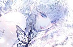皐月 恵(7.24~東京グループ展) (@kuroe16370547) Pretty Anime Girl, Beautiful Anime Girl, Anime Art Girl, Manga Girl, Manga Anime, Cute Anime Character, Character Art, Anime Black Hair, Gothic Anime