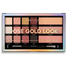 Shopping for an eyeshadow, blush, and highlighter palette for that perfect rose gold glow? Look no further than the Profusion Rose Gold Look kit. Shop for your cosmetics online today! Rose Gold Eyeshadow, Blending Eyeshadow, Eyeshadow Brushes, Eyeshadow Palette, Makeup Brushes, Drugstore Eyeshadow, Make Up Palette, Diy Makeup, Makeup Tools