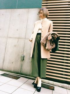 GUILD PRIME渋谷 | miyuさんのその他アウター「muller of yoshiokubo 【muller of yoshiokubo】WOMENS 別注Combination fur coat」を使ったコーディネート