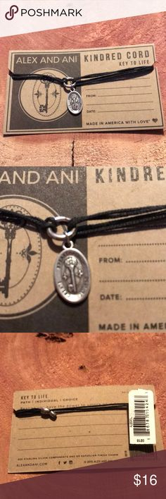 NWT Alex and Ani kindred cord key to life NWT Alex and Ani kindred cord key to life. Still on the card. Adjustable cord. Alex and Ani Jewelry Bracelets