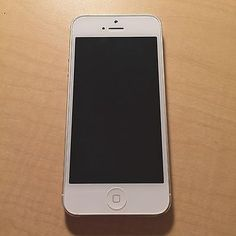 cool AT&T Apple iPhone 5 - 16GB - White & Silver Check more at http://shipperscentral.com/wp/product/att-apple-iphone-5-16gb-white-silver/