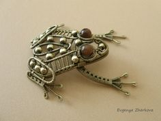 Frog by Appelsinium on Etsy