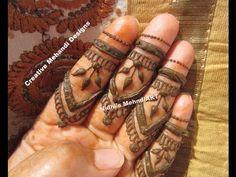 YouTube #moroccan #finger #henna #mehndi #design