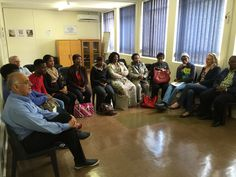 """The South African Board of the GetOn Foundation Trust talking with students and staff and discussing progress, dreams and goals. """"If you want something bad enough and believe in it, it is achievable"""", was their message. www.getonskillsdevelopment.co.za"""