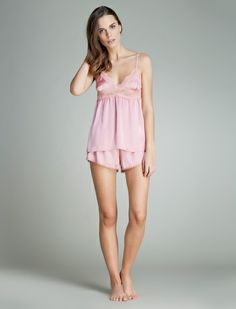 women'secret | Sexy Summer | Pijama corto de satén