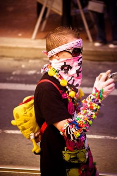 My next rave I attend will attire something like this.