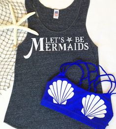 Mermaid workout apparel by Valleau Apparel. So CUTE!