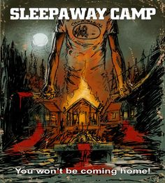 """The story behind creating new art for """"Sleepaway Camp."""" If you haven't seen it, this does contain spoiler alerts."""