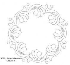 Plumas de Barbra Circular 4