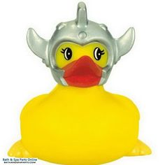 The classic rubber duck has been given a new twist! Yellow duckies are themed with a sport, profession, or hobby and can be used in the Spa, Pool, or even the bath tub!