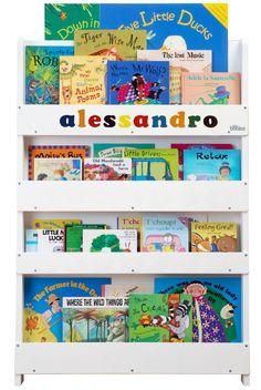 Mobile Libreria Design per Bambini Personalizzata #regali #natale #personalizzate #personalizzazioni #librerie #alessandro