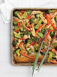 Ricardo Recipe: Asian Baked Chicken- Ricardo Recipe: Asian Baked Chicken – # to - Oven Baked Chicken, Baked Chicken Recipes, Asian Recipes, Healthy Recipes, Oriental Recipes, Ricardo Recipe, Asian Chicken, Vegetable Side Dishes, Chicken And Vegetables