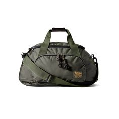 Duffle Pack in Otter Green Front View